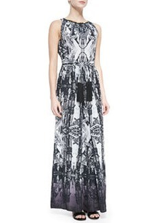 12th Street by Cynthia Vincent Sleeveless Printed Maxi Dress