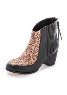 Twelfth St. by Cynthia Vincent Aston Zip Back Haircalf Booties