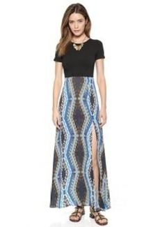 Twelfth St. by Cynthia Vincent Scuba Top Maxi Dress