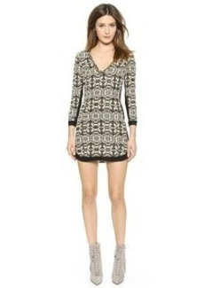 Twelfth St. by Cynthia Vincent Shift Dress with Beaded Trim