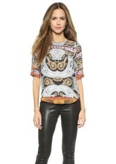 Twelfth St. by Cynthia Vincent Shirttail Top