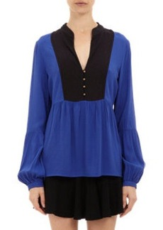Twelfth Street by Cynthia Vincent Contrast Bib Top