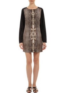 Twelfth Street by Cynthia Vincen Python-print Shift Dress
