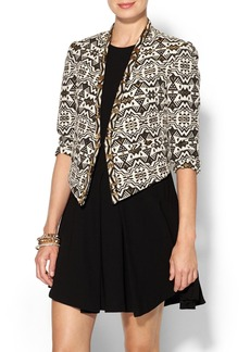 Twelfth Street By Cynthia Vincent Beaded Cropped Jacket