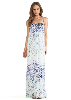 Twelfth Street By Cynthia Vincent Beaded Strap Maxi Dress