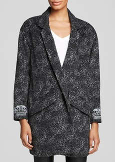 Twelfth Street by Cynthia Vincent Blazer - Melton Embroidered