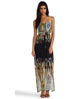 Twelfth Street By Cynthia Vincent Chainmail Maxi Dress in Black