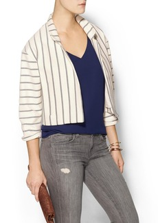 Twelfth Street By Cynthia Vincent Crepe Roll Sleeve Top