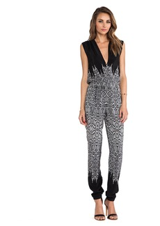 Twelfth Street By Cynthia Vincent Criss Cross Jumpsuit