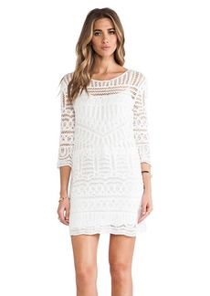 Twelfth Street By Cynthia Vincent Crochet Dress in White