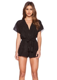 Twelfth Street By Cynthia Vincent Crossover Romper