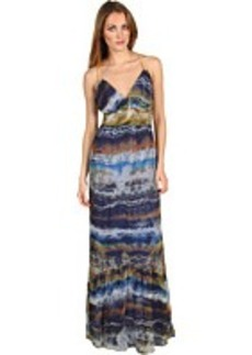 Twelfth Street by Cynthia Vincent Eden Leather Strap Maxi Dress