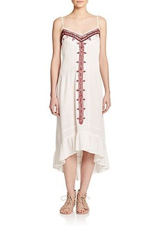 Twelfth Street by Cynthia Vincent Embroidered Cotton Dress