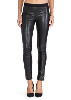 Twelfth Street By Cynthia Vincent Faux Leather Legging