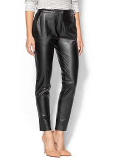 Twelfth Street By Cynthia Vincent Faux Leather Trouser