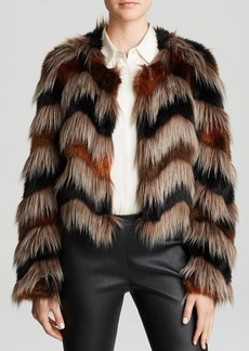 Twelfth Street by Cynthia Vincent Jacket - Faux Fur