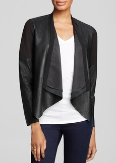 Twelfth Street by Cynthia Vincent Jacket - Leather and Ponte