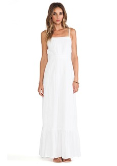 Twelfth Street By Cynthia Vincent Lace Inset Maxi Dress