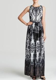Twelfth Street by Cynthia Vincent Maxi Dress - Sleeveless Printed