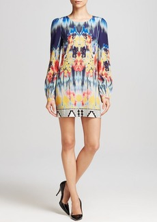 Twelfth Street by Cynthia Vincent Mini Dress - Printed Silk