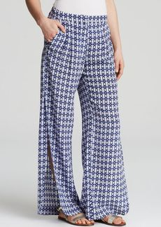 Twelfth Street by Cynthia Vincent Pants - Wide Leg Side Slit