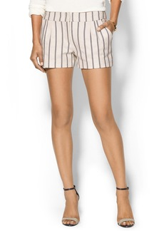 Twelfth Street By Cynthia Vincent Pleated Striped Short