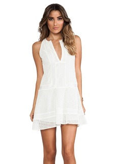 Twelfth Street By Cynthia Vincent Sleeveless Inset Dress