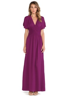 Twelfth Street By Cynthia Vincent Smocked Maxi Dress
