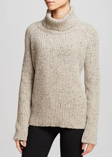 Twelfth Street by Cynthia Vincent Sweater - Zip Back Turtleneck