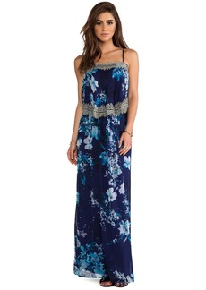 Twelfth Street By Cynthia Vincent Tiered Maxi Dress