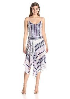 Twelfth Street by Cynthia Vincent Women's Asymmetrical Hem Cami Dress
