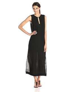 Twelfth Street by Cynthia Vincent Women's Crepe Shift Maxi Dress