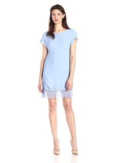 Twelfth Street by Cynthia Vincent Women's Fringe Shift Dress