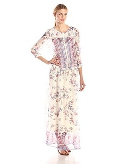 Twelfth Street by Cynthia Vincent Women's Indianese Silk Maxi Dress