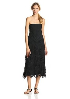 Twelfth Street by Cynthia Vincent Women's Lace Convertible Maxi Skirt Dress