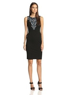 Twelfth Street by Cynthia Vincent Women's Screen Printed Body Con Dress