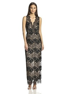 Twelfth Street by Cynthia Vincent Women's Sleeveless Lace Evening Gown