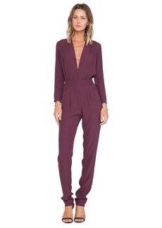 Twelfth Street By Cynthia Vincent Zip Front Jumpsuit