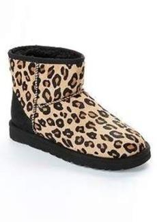 UGG Australia Classic Leopard Mini Boots