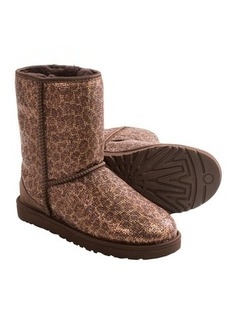 UGG® Australia Classic Short Glitter Boots (For Women)