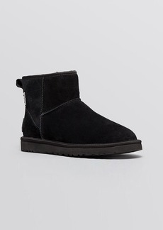 UGG® Australia Cold Weather Booties - Classic Mini Crystal Bow