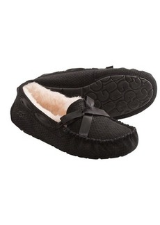 UGG® Australia Dakota Exotic Slippers - Leather, Sheepskin Lining (For Women)