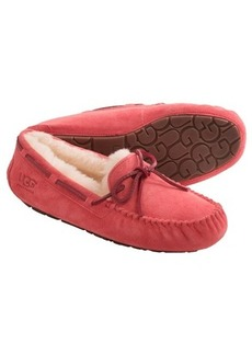 UGG® Australia Dakota Moccasin Slippers - Suede (For Women)