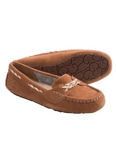 UGG® Australia Genoa Moccasin Slippers - Suede (For Women)