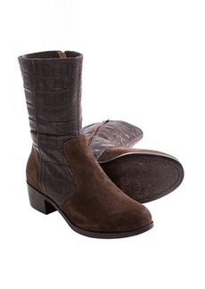 UGG® Australia Lou Boots - Croc-Embossed Leather (For Women)