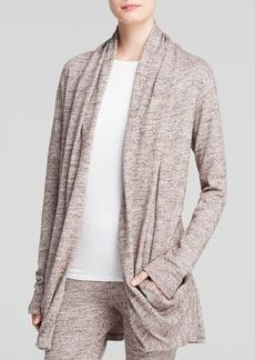 UGG® Australia Olive Slub Knit Draped Shawl Cardigan