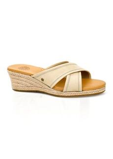UGG® Australia Open Toe Platform Slide Espadrille Sandals - Gwyn