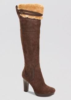 UGG® Australia Over The Knee Platform Boots - Ophira High Heel