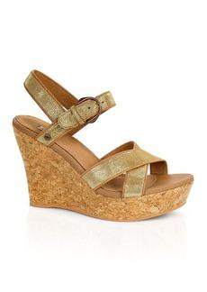 UGG® Australia Platform Wedge Sandals - Jazmine
