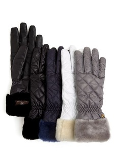 UGG® Australia Quilted Tech Fabric Gloves